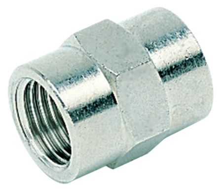 "PARKAIR - EQUAL CONNECTOR - BSPP FEMALE FEMALE: 1/4"" BSPP - Part number BFFA 04"
