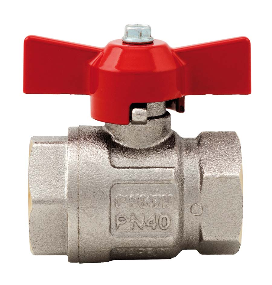 """ITAP - IDEAL® FULL FLOW 'T' HANDLE - BSPP FEMALE - ISO228 THREAD: 1/4"""" BSPP, PRESSURE: 50 bar - Part number B/V2092-04"""