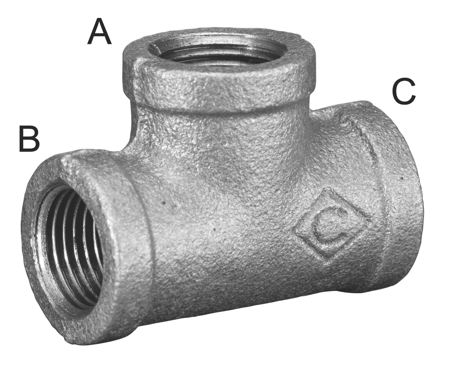 Malleable Iron Pipe Fittings Ring Main Systems Tom
