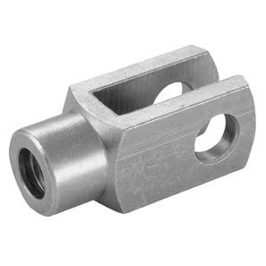 CAMLOC - MILD STEEL CLEVIS FORK THREAD: M5 x 0.8, DIA: 5 mm - Part number GS-060033