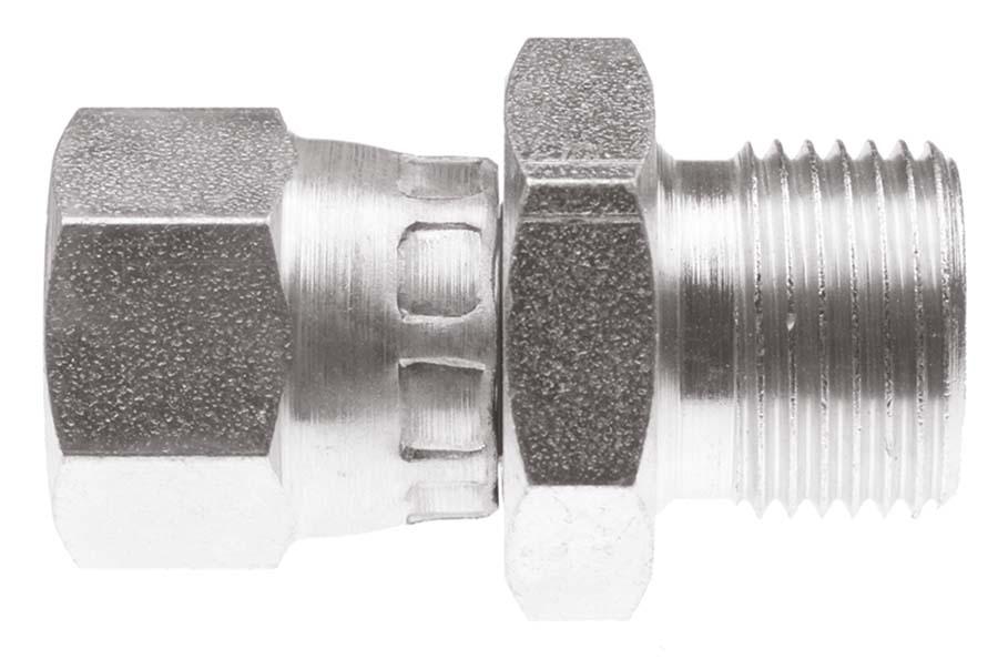 Burnett /& Hillman Hydraulic BSP 5//8 Male x BSPT 1//2 Male Adaptor 00327