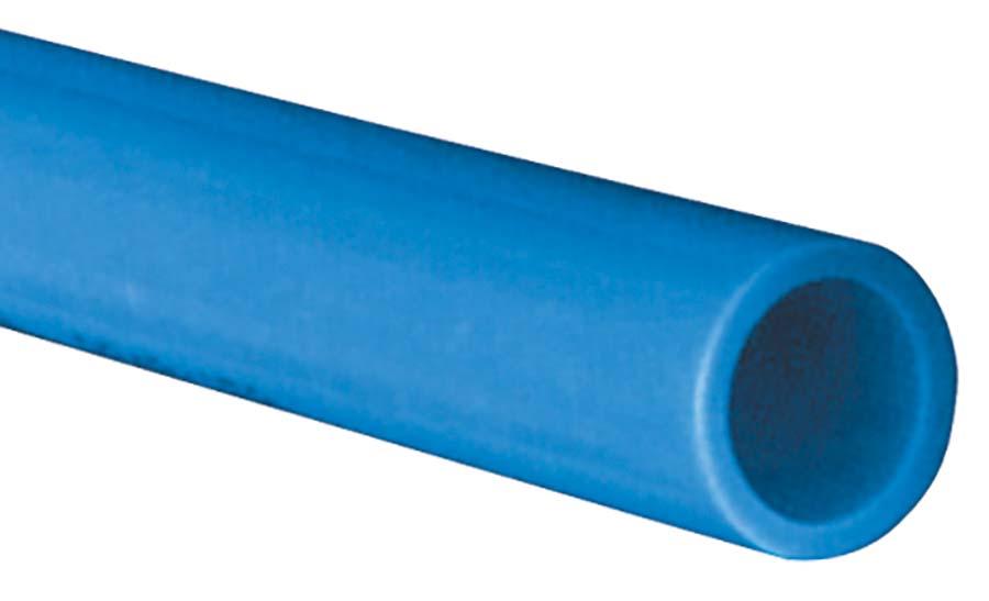 JOHN GUEST - JOHN GUEST BLUE RIGID - NYLON PIPE TUBE OD: 22 mm, TUBE ID: 18 mm, LENGTH: 3 mtrs - Part number JGPARM2218