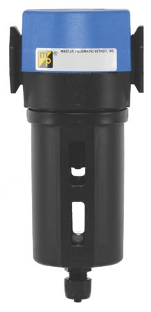 """MASTER PNEUMATIC - SERIES F350 - FILTER (MANUAL DRAIN) PORT SIZE: G1/4"""", FILTRATION: 5 Micron - Part number M-F350-2W"""