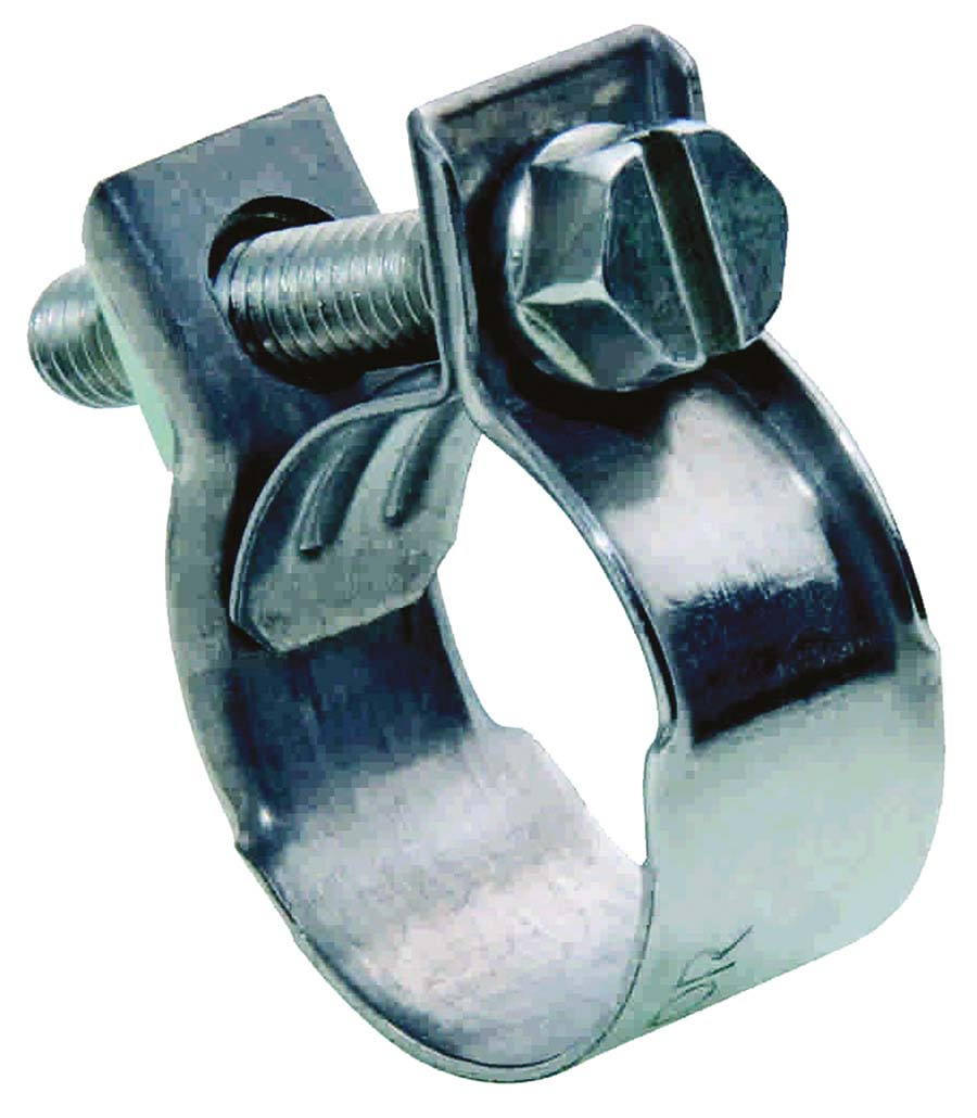 20mm Jubilee W1 Mini Nut /& Bolt Fuel Hose Clips Petrol Clamps Zinc 10 x 18mm