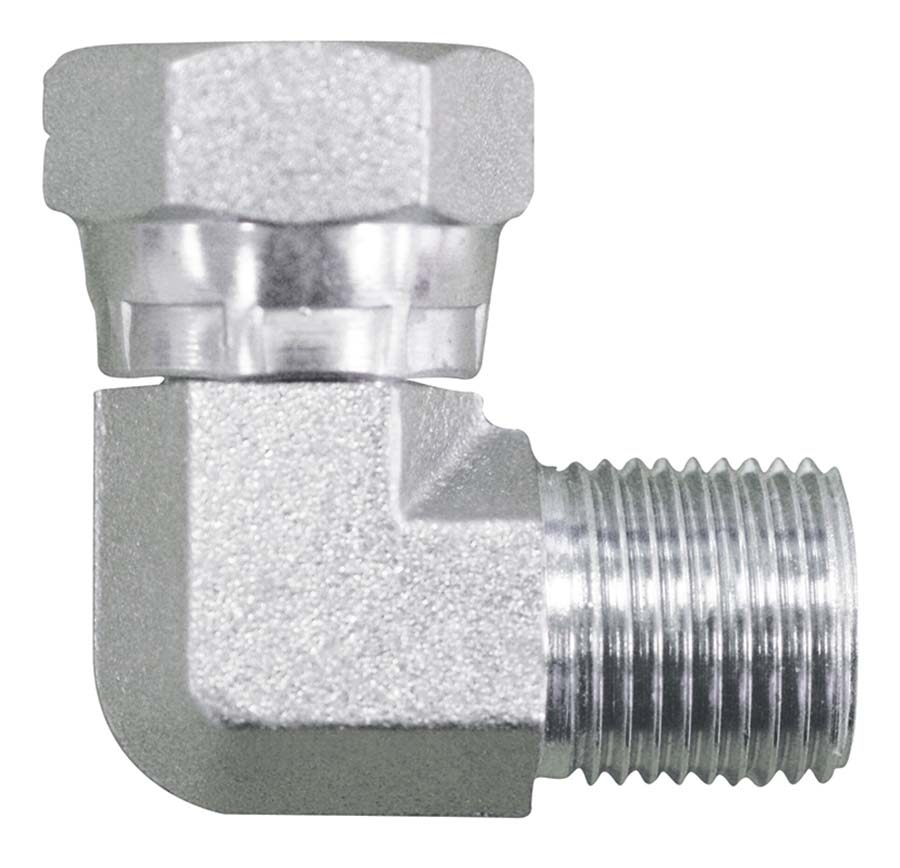PLF Pneumatic Compressed Air 90 ° Elbow Connector fitting Ø 10mm Thread BSPT