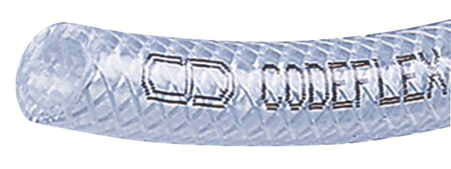 COPELY - PV2K - CLEAR - 30 metre coils ID MM: 10, ID INS: 3/8, OD: 14, PRESSURE BAR: 10 - Part number PV2K10