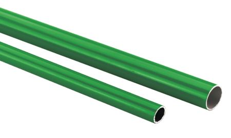 SICOMAT - ALUMINIUM PIPE - 6 METRE LENGTH PIPE OD: 25 mm, PIPE ID: 22 mm, FLOW RATE @ 7 BAR: 2727 l/min - Part number r059025022-6V