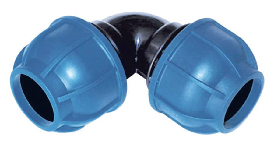 SICOMAT - 90° EQUAL ELBOW PIPE SIZE: 25 mm, PIPE SIZE: 25 mm - Part number rR213025025