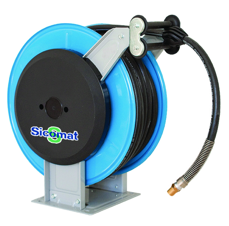 "SICOMAT - R523 SERIES - 18 BAR WORKING PRESSURE LENGTH: 20 m, HOSE ID: 13x20 mm, INLET / OUTLET: 1/2"" male BSPT - Part number rR523020013"