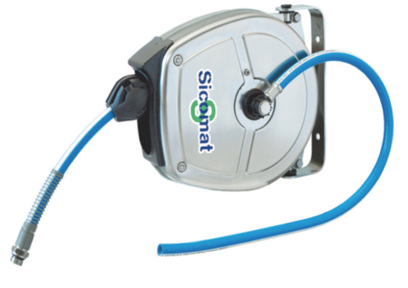 """SICOMAT - R532 SERIES - 20 BAR WORKING PRESSURE LENGTH: 5 m, HOSE ID: 8x12 mm, INLET / OUTLET: Ø8 / 3/8"""" male BSPT - Part number rR532005008"""