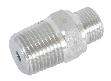 Fevas Tube 6mm-1//8 bsp Thread Bulkhead Female Straight Stainless Steel 316 air Connector